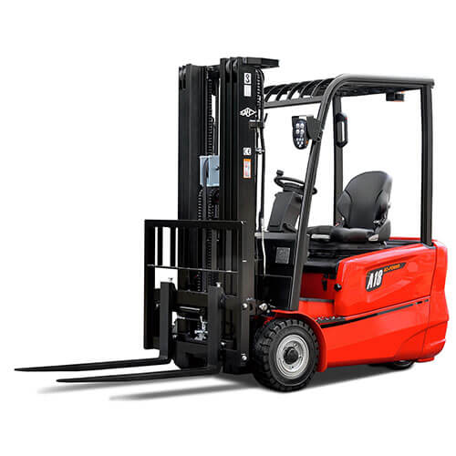 A Series 3-Wheeled Electric Forklifts